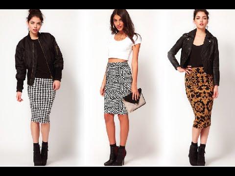 How To Make A Midi Skirt Easy DIY
