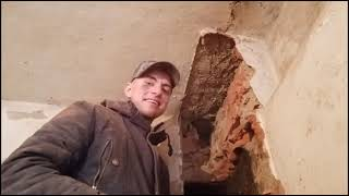 2#VLOG ЧИСТКА ПЕЧКИПОДГОТОВКА К САМОМУ ГЛАВНОМУ/РЕАКЦИЯ ДЕВУШКИ #ремонт #vlog #демонтаж #стройка