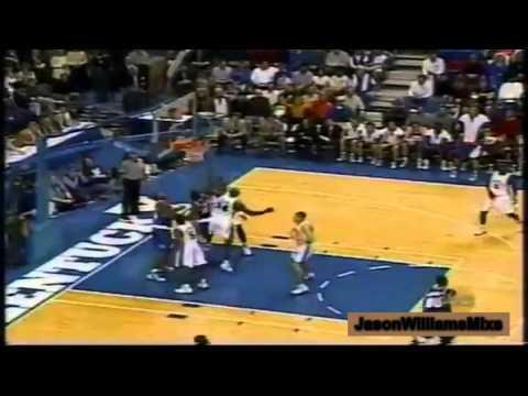 Jason Williams (24pts) Highlights Florida Gators at Kentucky Wildcats [02.01.1998]