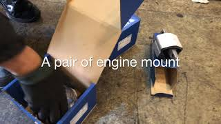 Mercedes E280 W211 Engine mount and transmission mount replacement