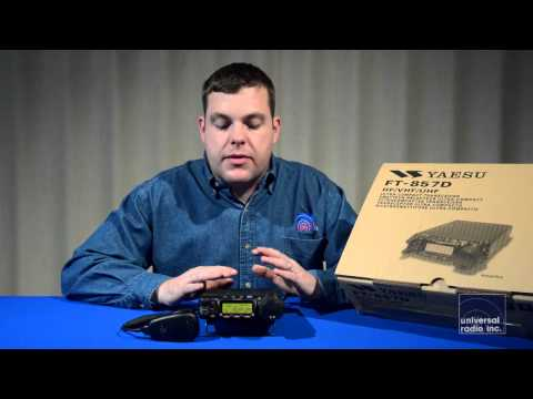 Universal Radio presents the Yaesu FT-857D Mobile Amateur Ra