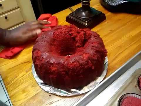 Brandy Alexander Red Velvet Pound Cake Part 2 of 2 - Simple Cooking With Eric