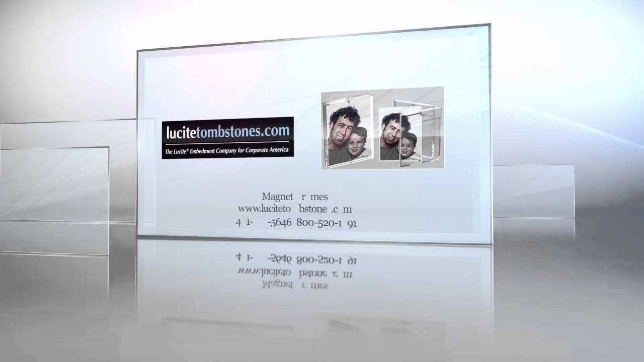 Magnet Frames. Acrylic Magnetic Frames. - YouTube