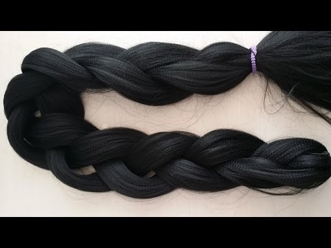 how-to-cut-extensions--braiding-hair-into-different-sections