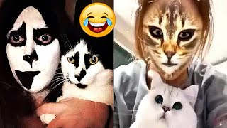 🤣Funny Dogs & Cats Scared Of Cat Mask Filter - Dog & Cat Reaction To Mask Filter | CuteVN Animals