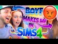 😂BOYFRIEND MAKES ME IN SIMS 4!?😰
