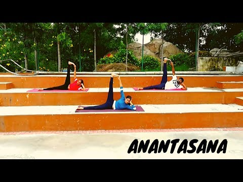 Anantasana | Sleeping Vishnu Pose | Side-Reclining Leg Lift pose