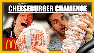 Kan vi äta 35 st Cheeseburgare?   Mcdonalds