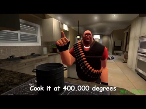 Cooking With Heavy - How To Make a Sandvich