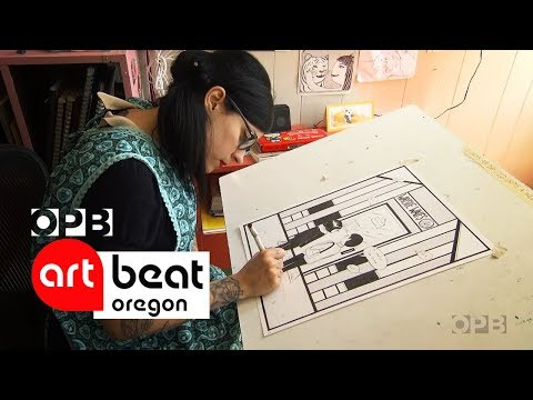 Drawing With Cartoonist Nicole Georges