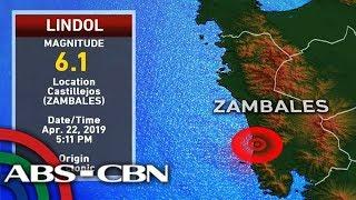 Ilang bahagi ng Luzon niyanig ng magnitude 6.1 lindol | TV Pat…