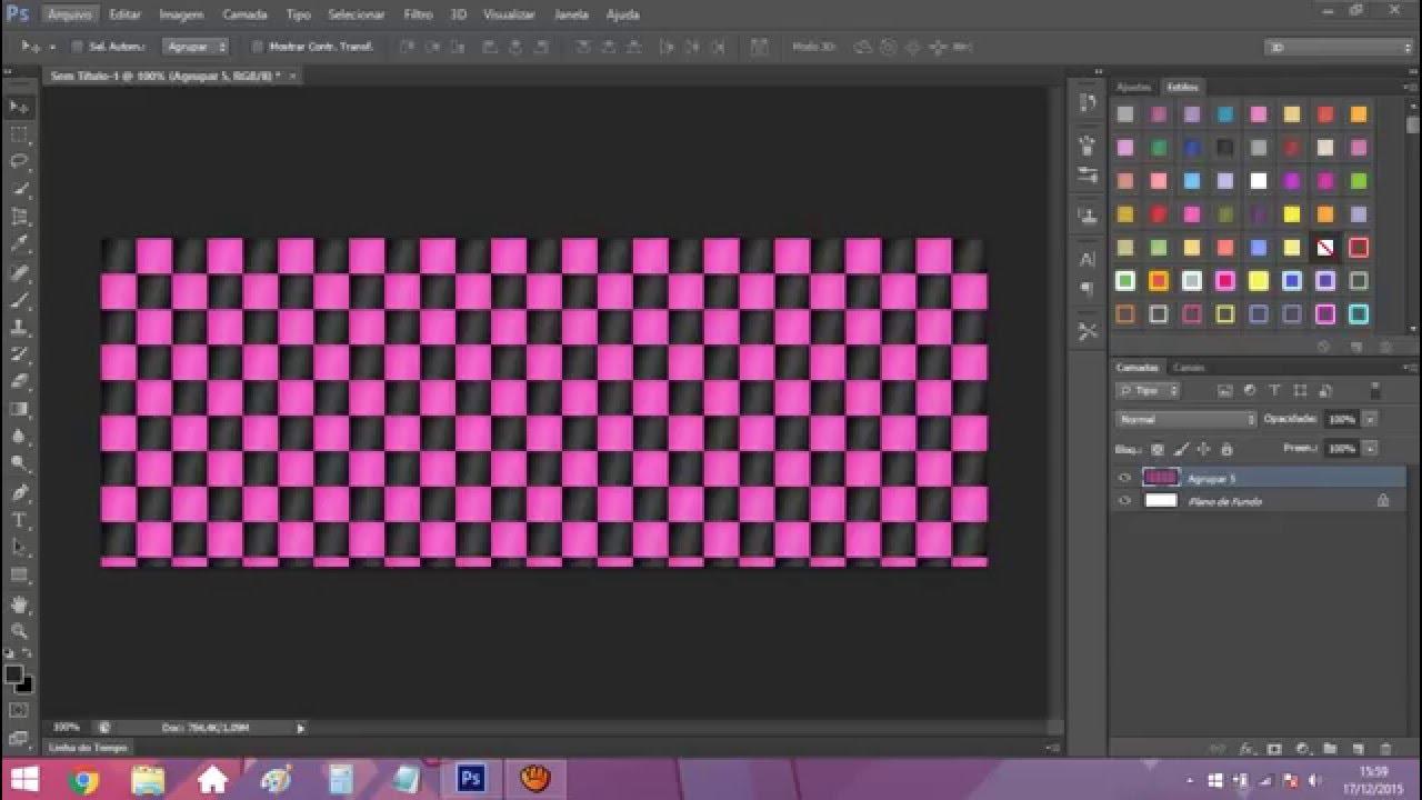 Como fazer painel de fotos no photoshop 31
