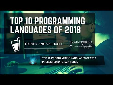 Top 10 Programming Languages to Learn in 2018 | Future Demands