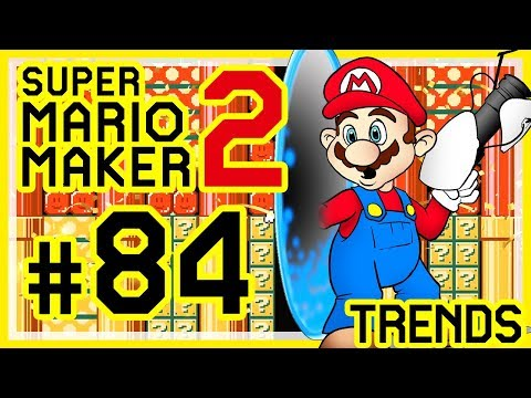 super-mario-maker-2-#-84-👷-rainbow-rush-2,-gourmet-race,-dead-zone,-zukunftsvisionen,-portal-rätsel