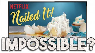 NAILED IT! Challenge. Experienced cake decorators attempt Nailed It challenges from Netflix!