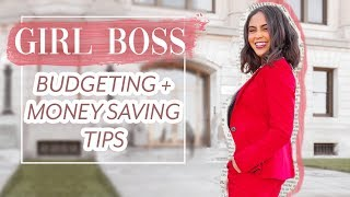 BUDGETING 101 + MONEY SAVING TIPS EVERY GIRL BOSS SHOULD KNOW ♡