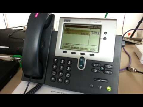 SJEWN demo, listening to VOIP phonemail