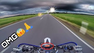 Die Ruhe vor dem Sturm | Mit Vollgas ins Gewitter!? | KTM EXC 125 on Limit