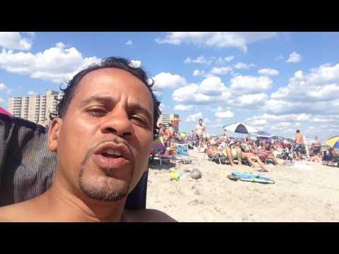 Enjoying Rockaway Beach
