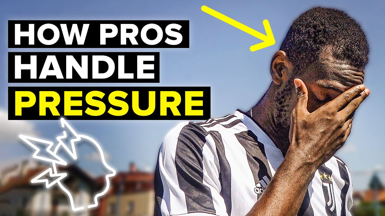 Learn how to deal with pressure in football