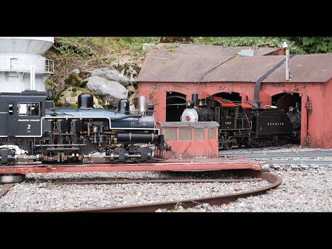 """Eine Einmalige 5"""" Eisenbahnanlage  2019"""