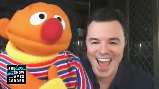 Seth MacFarlane Does a Great Ernie