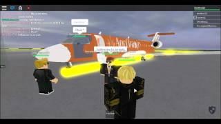 ROBLOX Flight Aer Oranje CRJ 200 Part 4