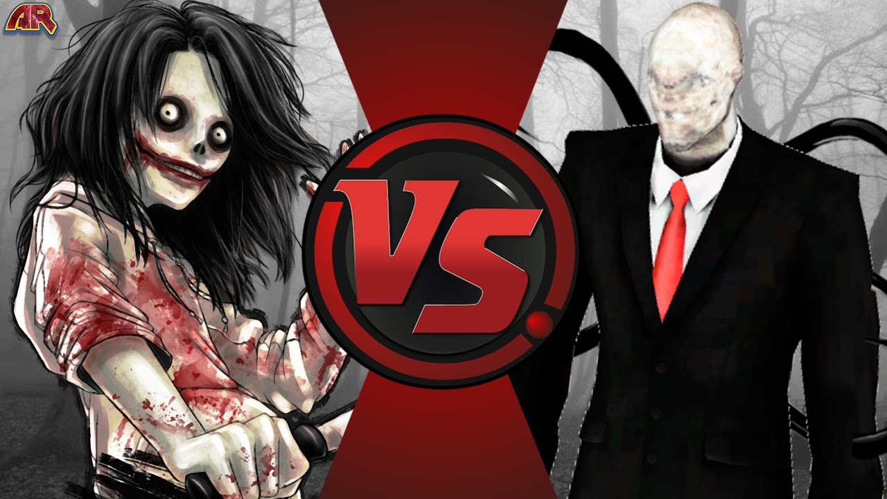 JEFF THE KILLER vs SLENDERMAN! Cartoon Fight Club Episode 149