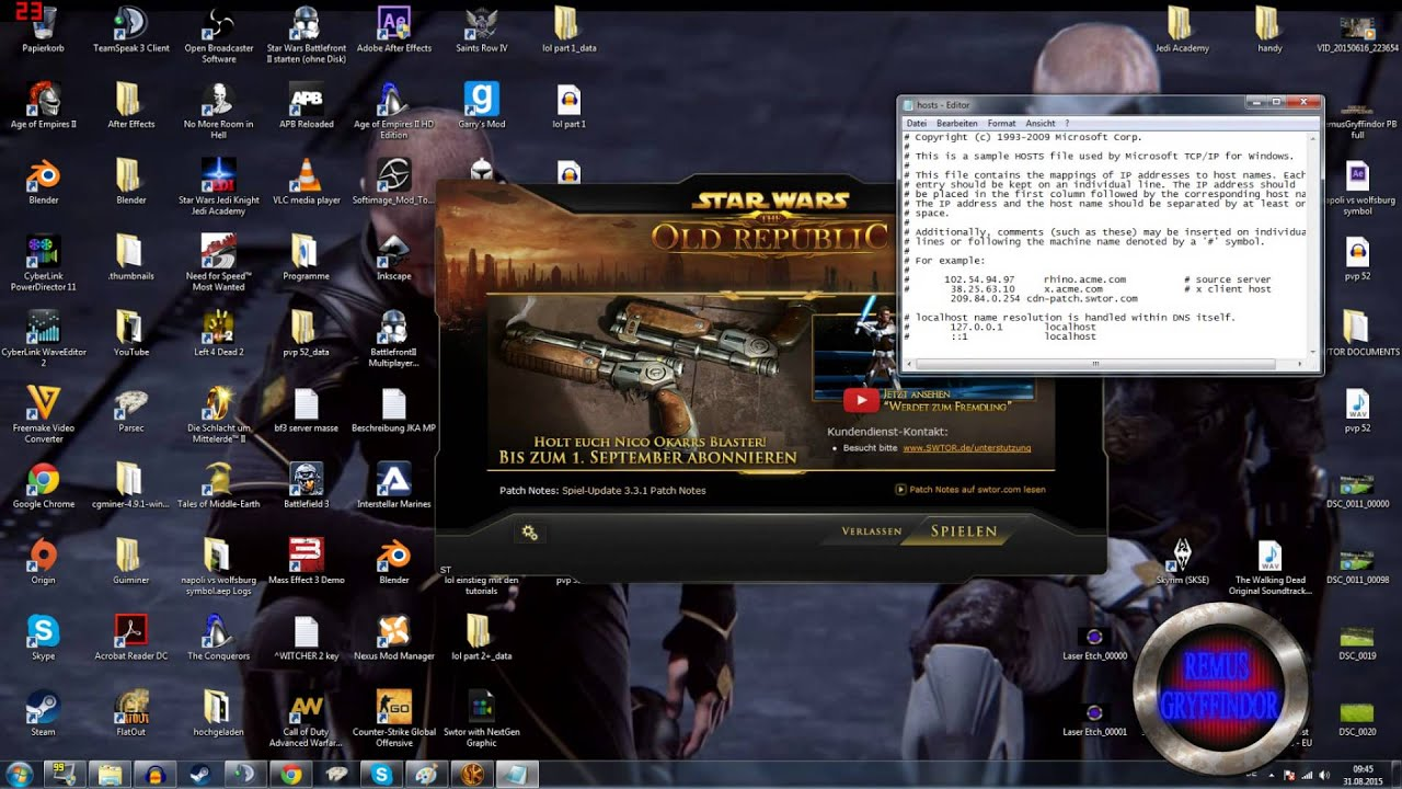 SWTOR Launcher Problem lösen [Tutorial] HD - YouTube