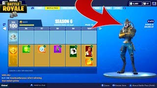 COMPLETING -NEWMD DIRE SKINS CHALLENGES in FORTNITE BATTLE ROYALE (fr) SEASON 6 Battle Pass Challenges (