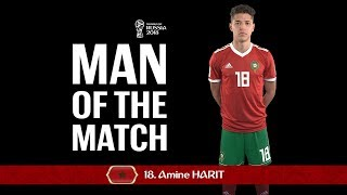 Amine HARIT - Man of the Match - Match 4