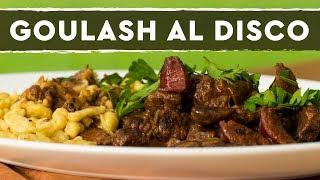 Goulash al Disco con Spaetzle - Recetas del Sur