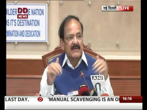 Urban Development Minister addresses press conference in Delhi