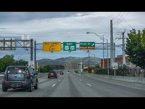 16-32 Boise Idaho: I-84 and I-184