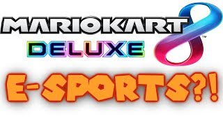Mario Kart 8 Deluxe ESPORTS Arena Tournament in Las Vegas Announcement!