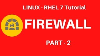 Linux in Hindi - RHEL 7 - Firewall Tutorial - Part 2 - Seven Layer Technologies Lucknow