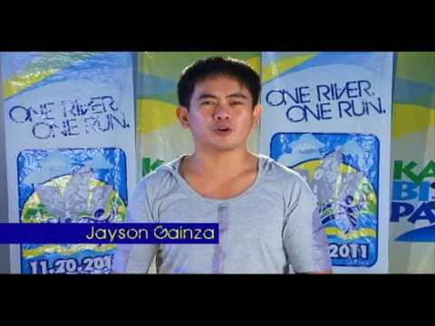 Jayson Gainza for 11.20.2011 Run for the Pasig River Travel Video