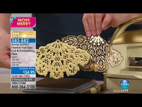 HSN | Anna Griffin Elegant Paper Crafting 11.18.2017 - 09 AM