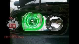 Neon Light Angel Eyes in carr BY DJ FAST - Ojos de angel en carro