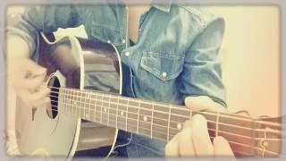 ネットにコードが出ていたので弾いてみた! まだまだ練習中ですが、歌が...