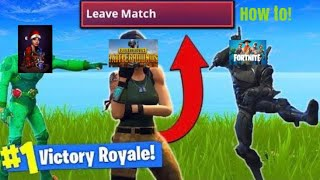 How To Make Someone Quite In Fortnite (funny Clip)