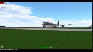 747-8i Takeoff (ROBLOX)