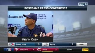 Kevin Cash -- Tampa Bay Rays vs. Toronto Blue Jays 04/06/2017
