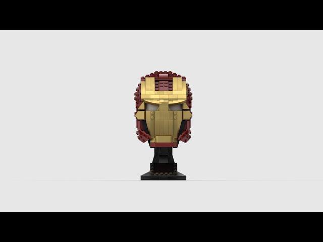 76165 Iron Mans Helm | Speed Build