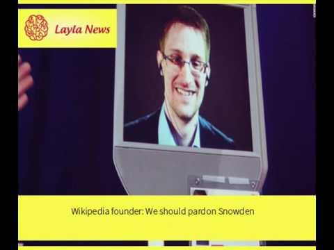 Wikipedia founder: We should pardon Snowden |  By : CNN