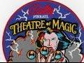 1995 Bally THEATRE OF MAGIC Pinball Machine In Action