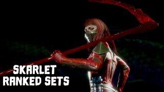 My First Online Matches With Skarlet | Mortal Kombat 11: Skarlet Ranked Sets #1