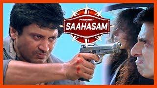 Saagasam All Action Scenes | Saagasam Movie Scenes | Prashanth fight scenes