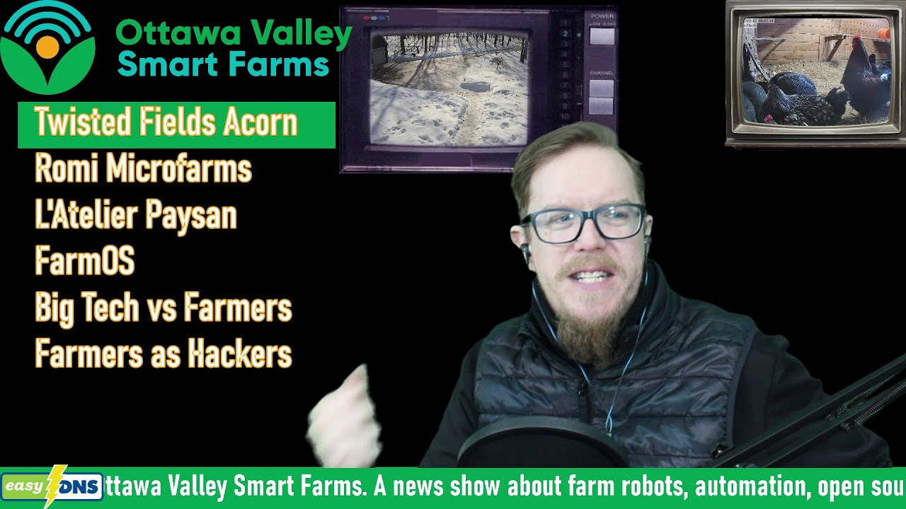 Twisted Fields Robot Featured by  Ottawa Valley Smart Farms
