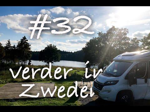 vlog #32 Verder in Zweden   Reis naar de Noordkaap